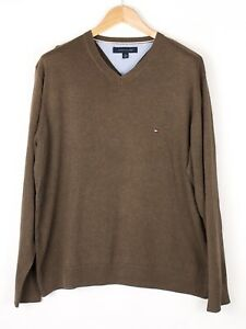 Tommy Hilfiger Herren Freizeit Strick Pullover Größe XL BCZ399
