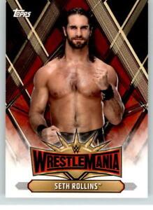 2019 Wwe Road To Wrestlemania Roster 19 Seth Rollins Ebay