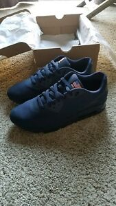 best service bccba 9edb6 Nike Air Max 90 Hyperfuse Independence Day Midnight Navy... size 10 ...