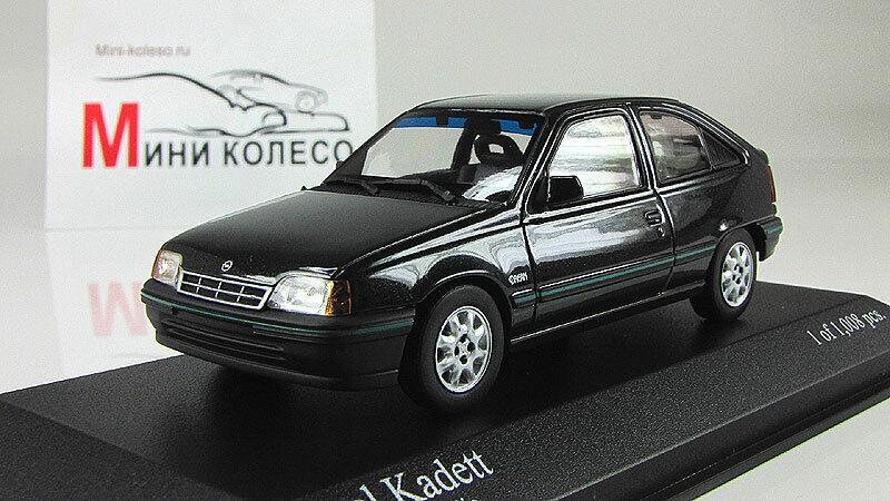Coche escala 1 43, Opel Kadett E -1989 - Negro