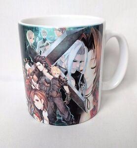 7 Ff7 Vii Sur Le Café Sephiroth Rpg Final Fantasy Afficher Cloud Détails Titre Tifa D'origine Tasse XOPikZu