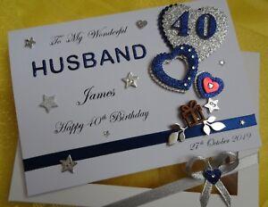 Personalised Handmade Birthday Card HUSBAND