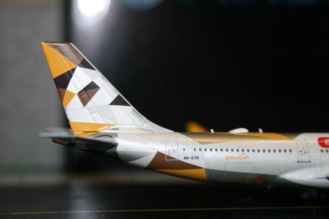 Panda Model SkyWings 1 400 Etihad Airbus A330-200 A330-200 A330-200 A6-EYD (PM-A6-EYD) Model Plane 3b459d