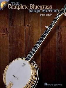 The-Complete-Bluegrass-Banjo-Method-von-Fred-Sokolow-2003-Taschenbuch-mit-CD