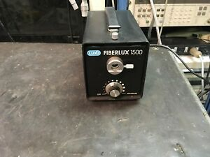 Luxo-Fiberlux-1500-150W-High-Intensity-Fiber-Optic-Illuminator-TESTED