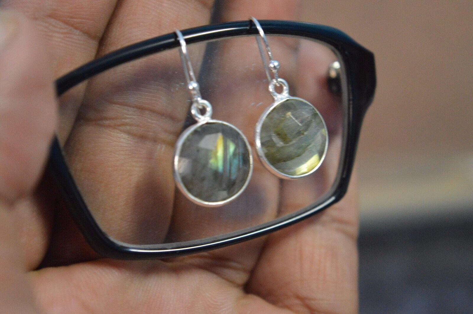Ebay 925 Sterling Silver LABRADORITE Stone Bestsellers Styles Earrings JEWELRY.