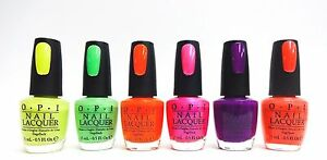 OPI Nail Polish Neon Collection Colors of your choice .5oz/15mL | eBay