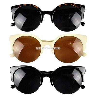 Women's Round Glasses Sunglasses Unisex Retro Style Eyewear Sunglasses Cool Hot