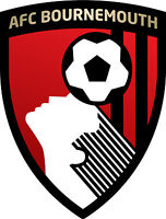 Bournemouth A.f.c. Football Club Vinyl Diecut Sticker Decal Soccer 4 Stickers