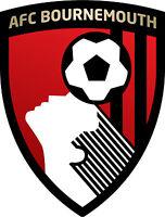 Bournemouth A.f.c. Football Club Vinyl Diecut Sticker Decal Soccer 4 Stickers