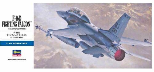 #D14//00445 1//72 Hasegawa USAF /& PACAF marquage F-16 D Fighting falcon