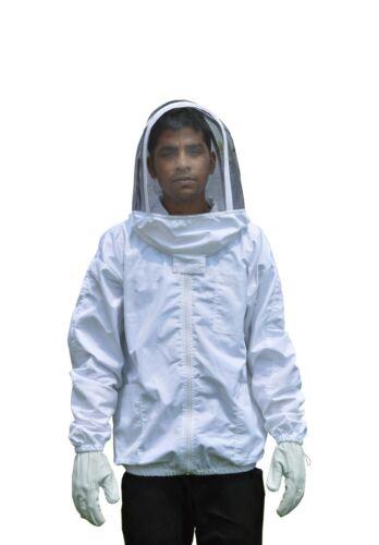 3XL BeeAttire Bee Jacket Cotton Beekeeper costume beekeeping Fencing Veil Jacket