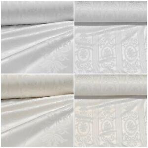 Molton Weiss Bühnen-Molton 280 cm 100/% Baumwolle Stoff Blickdicht Mundschutz