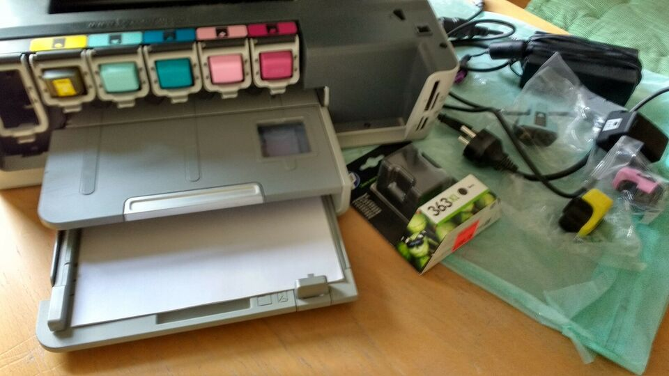 Blækprinter, m. farve, HP