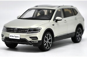 1-18-VW-Volkswagen-New-Tiguan-l-2017-Silver-DIECAST-Car-Model-Toy-Collection