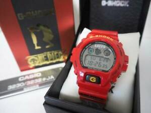 Details about G SHOCK One piece MONKEY D LUFFY Limited collaboration DW 6900FS JAPAN Watch