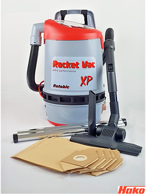 for XP Back Pack Models Rotobic 5 Hako Rocket Vacuum Bag Pkt