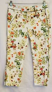 Disney Alice Through The Looking Glass by Colleen Atwood Capri Pants 10 New Tags