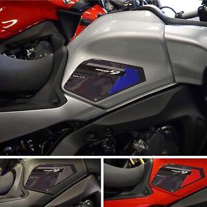 Adesivi 3D Protezioni Laterali serbatoio compatibili con Yamaha Tracer 9 2021