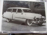 1951 Cadillac Station Wagen 11 X 17 Photo / Picture
