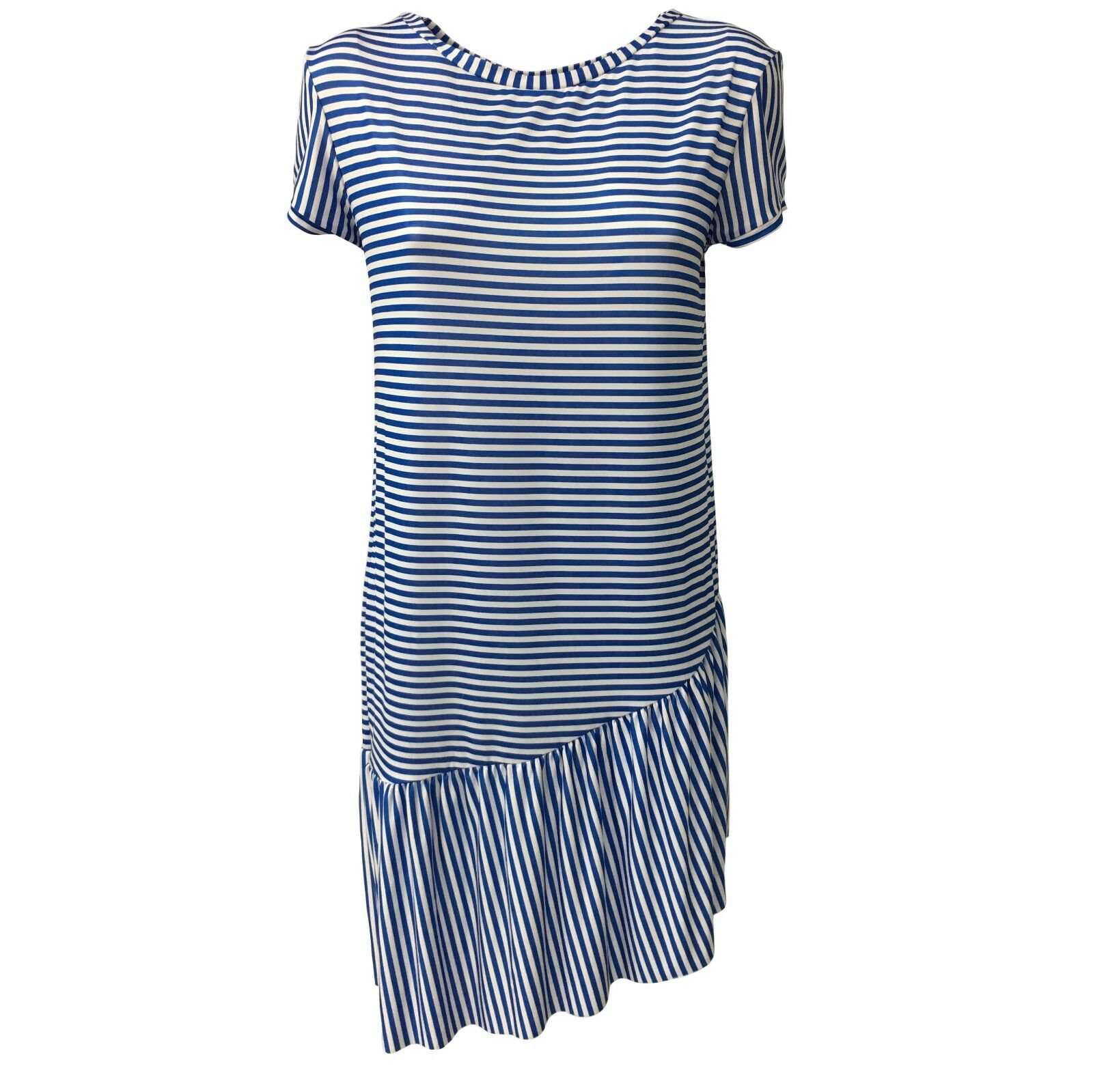 BYE BYE MARY by JUSTMINE abito donna righe righe righe azzurro bianco mod LEMONADE YARA561 a9559a