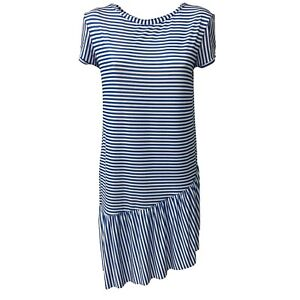White Light Mary Bye Dress Blue Justmine By Stripes Limonade Mod Yara561 Mod 6O8XSWH8