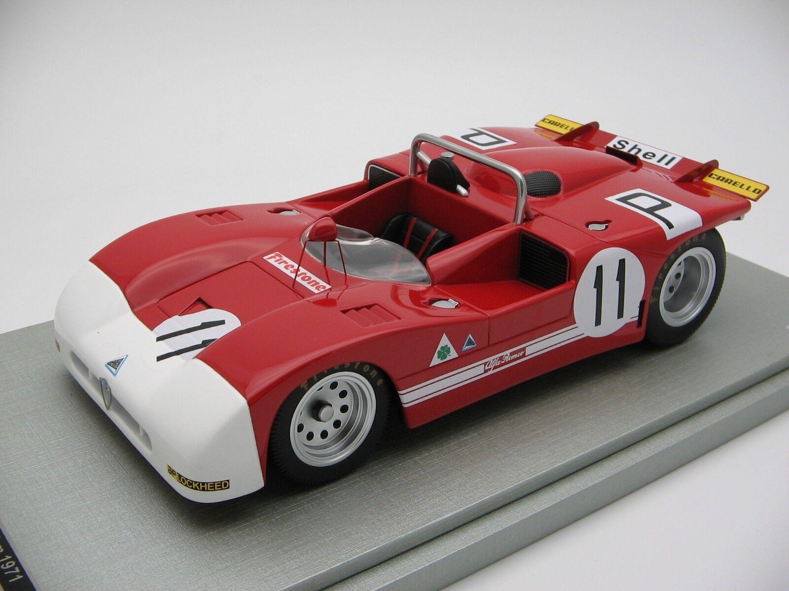 1 18 Scale Tecnomodel Alfa Romeo T33 3 Nurburgring 1000 km 1971 - TM18-50B