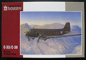 Special-Hobby-72176-Douglas-C-33-C-39-US-Army-Transport-Plane-1-72-Kit