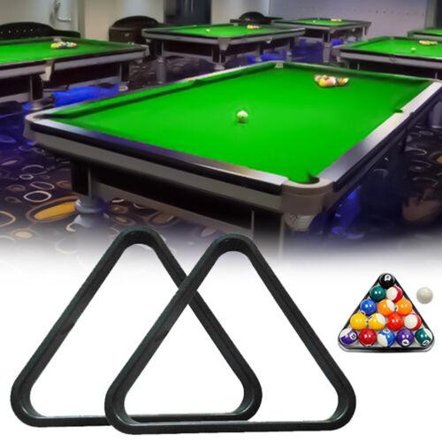 1.8//2//2.5inch Black Pool Ball Billiard Table Triangle Rack Game Equipment Tool