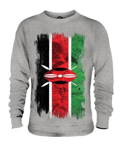 Maglia Unisex Jersey Grunge Regalo Calcio Bandiera Maglione Keniota Del Kenia qRYZxt6q