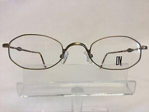 1576d1110200d DV 899 Eyeglasses Antique Gold Tortoise Oval Metal Retro looking ...