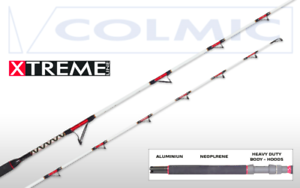 Cane Trolling colmic Pro Light Weiß Series 7'20-30lb One-Piece