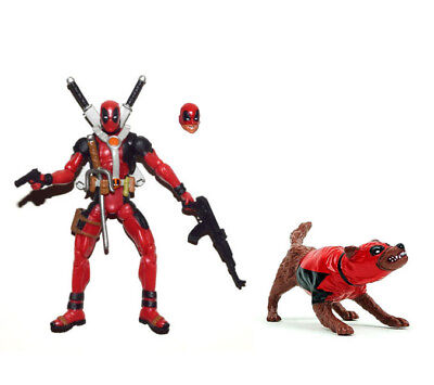 "Marvel Universe 3.75/"" Gray Deadpool and Dogpool Loose Action Figure"