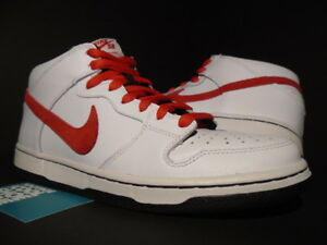 100% authentic 49ef6 b427d Image is loading 2011-NIKE-DUNK-MID-PRO-SB-WHITE-SPORT-