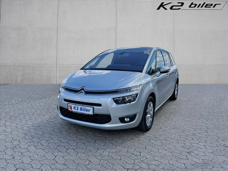 Citroën Grand C4 Picasso 1,6 e-HDi 115 Seduction ETG6 5d - 169.800 kr.
