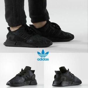 new styles 7254c 95f24 Image is loading Adidas-Originals-EQT-Cushion-ADV-Shoes-Boost-Black-