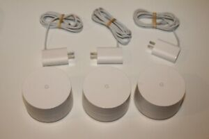 Google Mesh Home WiFi System 3-Pack GA00158-US USED
