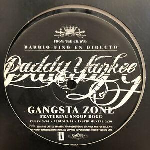 DADDY-YANKEE-GANGSTA-ZONE-MACHETE-12-034-2005-RARE-SNOOP-PAUL-WALL