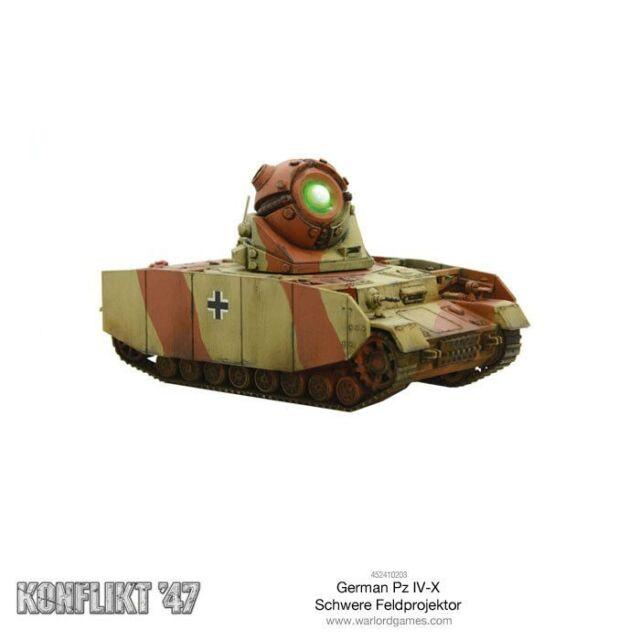 Warlord Games - Konflikt 47 German Tank Iv-X WW2 1947 Germany Tank