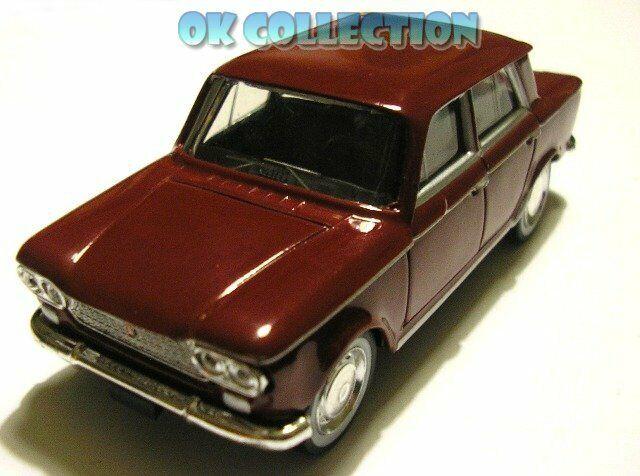 Model 1 43 fiat 1500 Bordeaux Red color Red Bordeaux-Norev (no box)