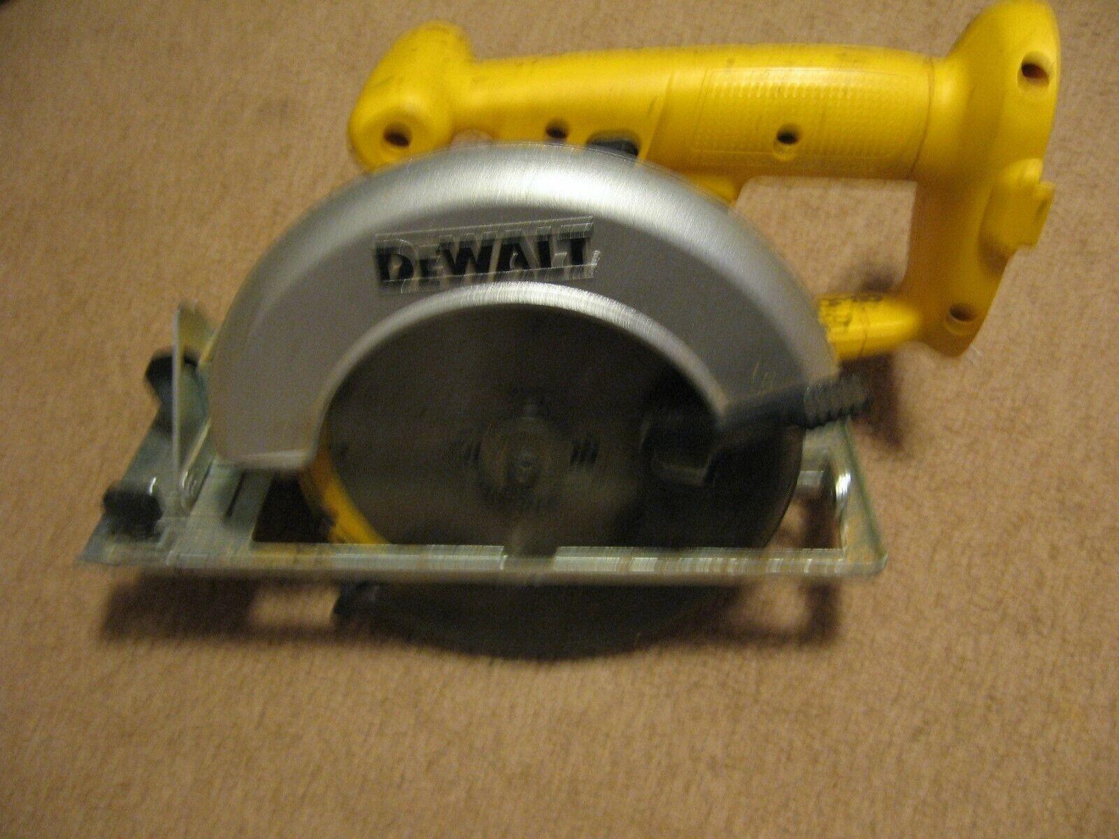18V Dewalt Circular Saw DW939 Used