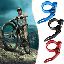 Mountain Bike MTB Seat Post Clamp Bolt Cycling Bicycle Quick Release 31.8mm UK