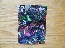 1995 WILDSTORM JIM LEE'S WILDCATS SOURCEBOOK CARD 94 SIGNED JAE LEE ART,WITH POA