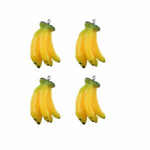 10pcs-Resin-Banana-Fruit-Pendants-Jewellery-Craft-Findings-35x18x15mm-51568