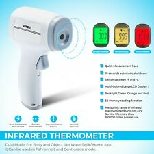 Medical Cefda Infrared Laser Digital Thermometer Non Contact Body And Forehead