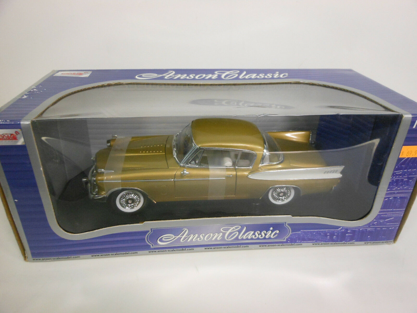 Anson 1957 1957 1957 Studebaker golden Hawk (Die-cast - 1 18 Scale) 8e76c4