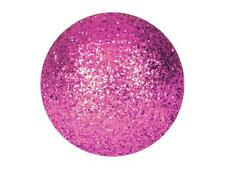 Dekokugel 3,5cm,pink 48Stk glitzer