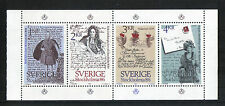 Sweden 1984 Stockholmia '86/Famous Letters--Attractive Topical (1505a) MNH