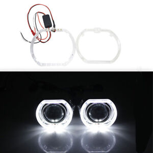 2Pcs-Square-LED-Day-running-Lights-angel-eyes-Halo-white-DRL-LED-12V-Universal