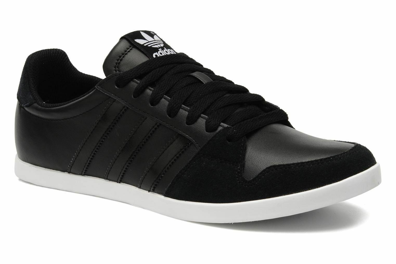 Adidas Originals Herren Adilago niedrig Sport Turnschuhe Retro Turnschuhe Schwarz